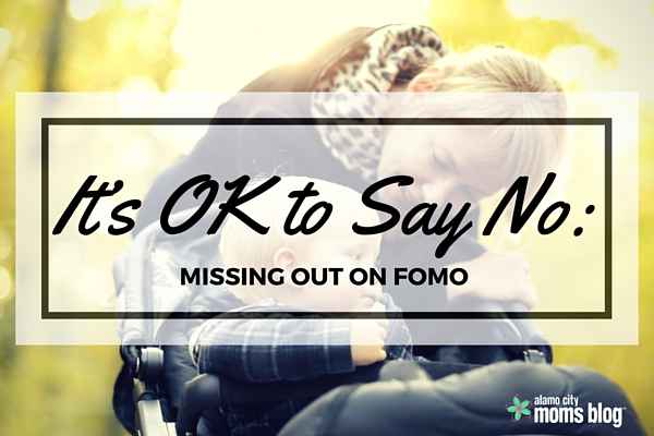 It's OK to Say No-