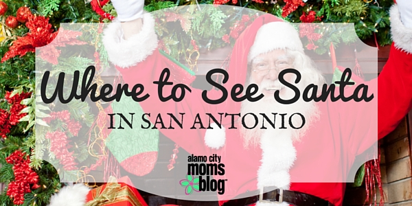 Where to See Santa in San Antonio