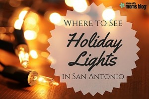 holiday lights in san antonio