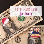Cold, Hard Cash: Giving Money in Lieu of Presents to Kids