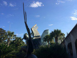 Go for a walk at the beautiful San Antonio Botanical Garden (sculpture by Jorge Marín) | Alamo City Moms Blog