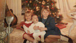 Christmas at home, 1989.