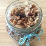 Maple Cinnamon Granola with Nuts and Dried Fruit