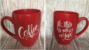 This is the Holy Grail of mom gifts. It mentions both coffee AND wine!