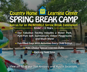 Country Home Spring Break Ad