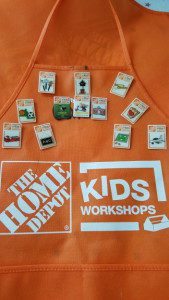 Our apron and growing collection of Home Depot project pins.