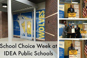 School Choice Week at IDEA Public Schools
