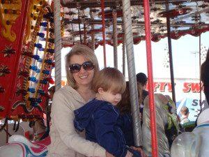 Carousel fun.