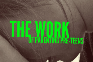 Are you parenting a pre teen and don't know which way is up? Check out this mom's approach.