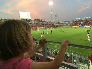 Soccer at Toyota Field in San Antonio, Texas | Alamo City Moms Blog