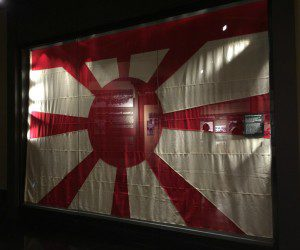 At the National Museum of the Pacific War: Nagato vice-admiral flag | Alamo City Moms Blog