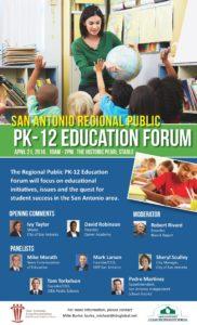 San Antonio Regional Public PK-12 Education Forum on April 21, 2016 at the Pearl Stable | Alamo City Moms Blog