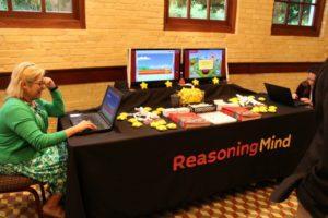 Reasoning Mind exhibit at the San Antonio Regional Public PK-12 Education Forum on April 21, 2016 at the Pearl Stable | Alamo City Moms Blog