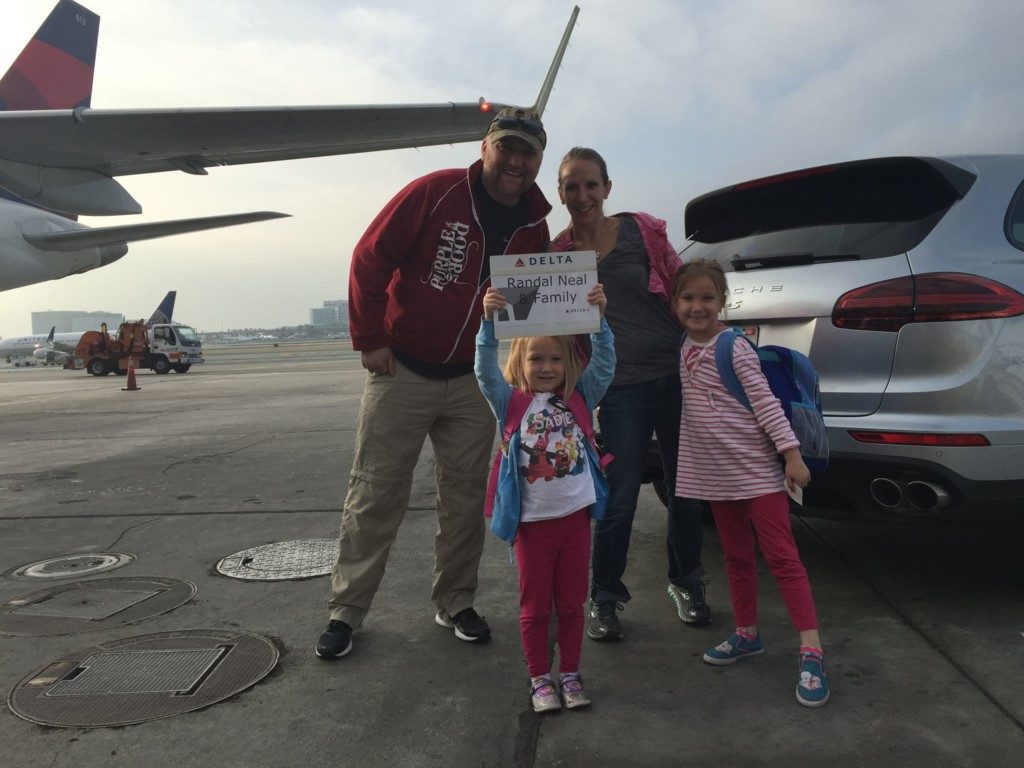 Flying with 2 big kids: living the dream!