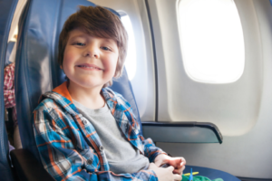 flying with kids through the ages