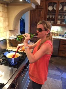 I don't always drink wine while I'm cooking, but when I do, it's in the summer, and I drink it straight from the bottle.