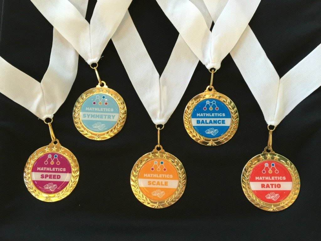 Medals for Mathletics at the DoSeum | Alamo City Moms Blog