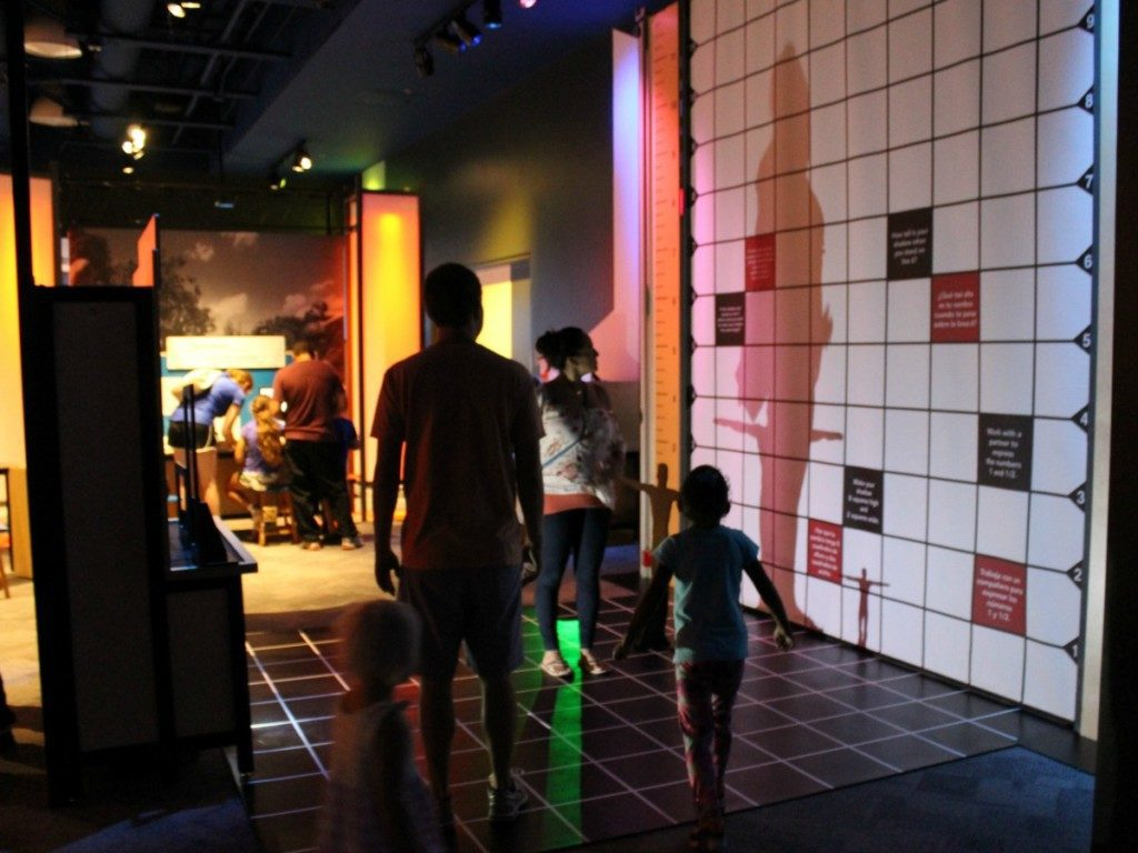 Shadow ratios in Mathletics at the DoSeum | Alamo City Moms Blog
