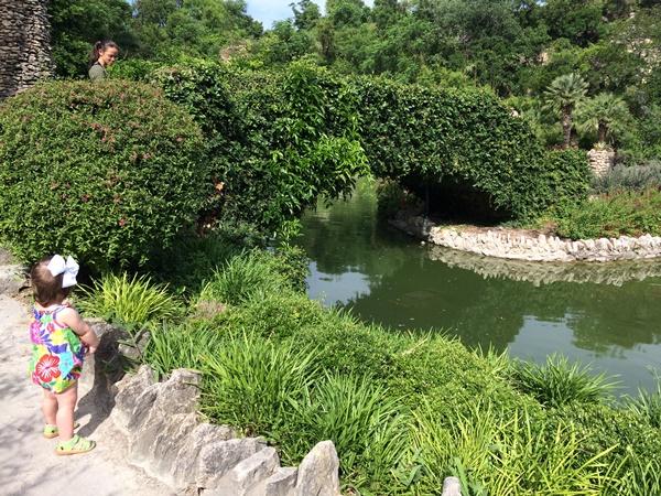 Scenery from Japanese Tea Gardens in San Antonio, Texas