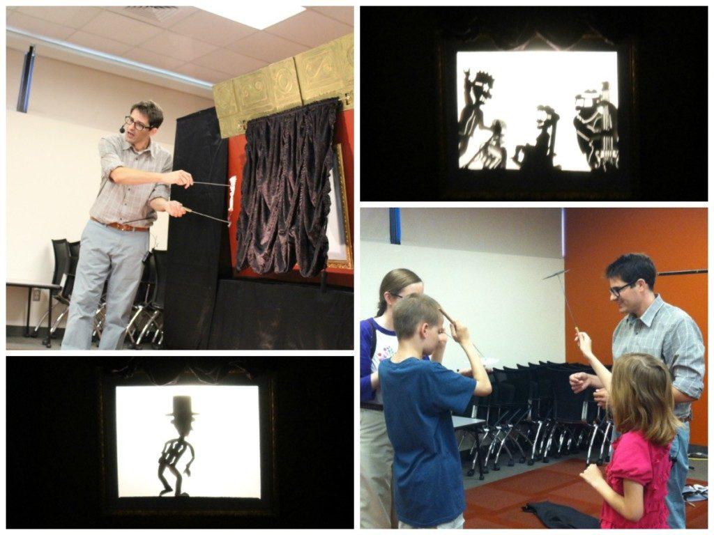 Behind the scenes of Matt Sandbank's Shadow Factory at Cortez Library - San Antonio Public Library Mayor's Summer Reading Club | Alamo City Moms Blog