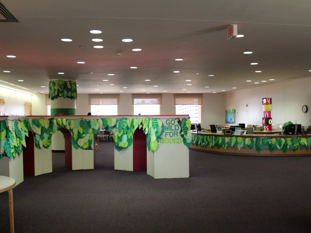 Children's section at the Central Library - San Antonio Public Library - Mayor's Summer Reading Club | Alamo City Moms Blog