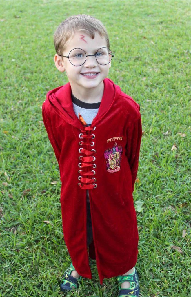 San Antonio's youngest Quidditch Player (halloween 2013)