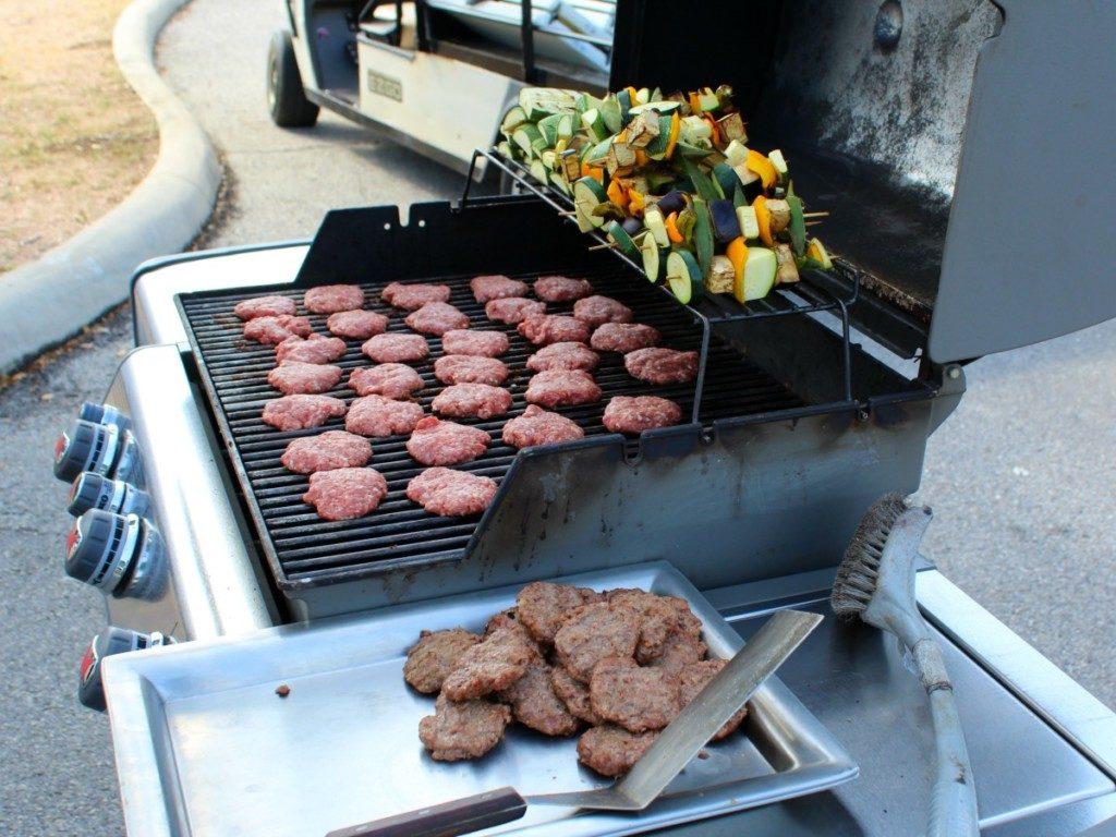 Grilling demonstration at the Trinity Market in San Antonio | Alamo City Moms Blog