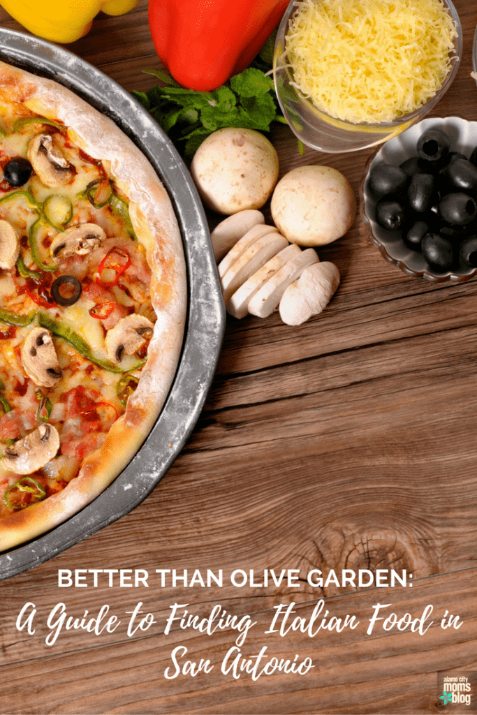 italian food in san antonio - Olive Garden Pizza