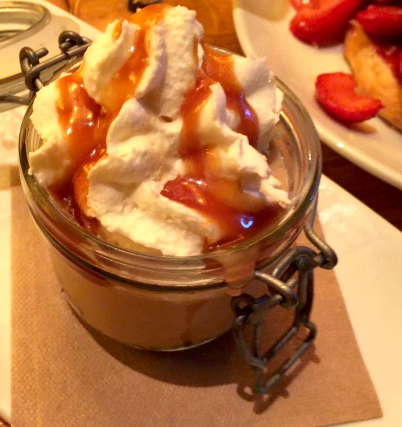 Salted Caramel Pudding at CPK