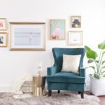 Hanging a Gallery Wall in Five Easy Steps