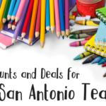 Hot Discounts and Deals for San Antonio Teachers