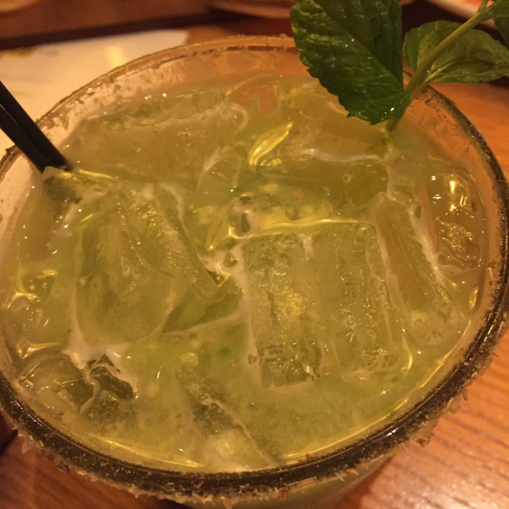 California Roots cocktail at CPK