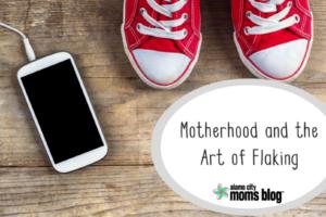 Motherhood and the Art of Flaking