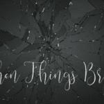 When Things Break