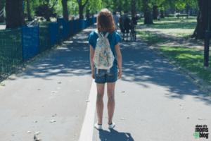 walk park alone