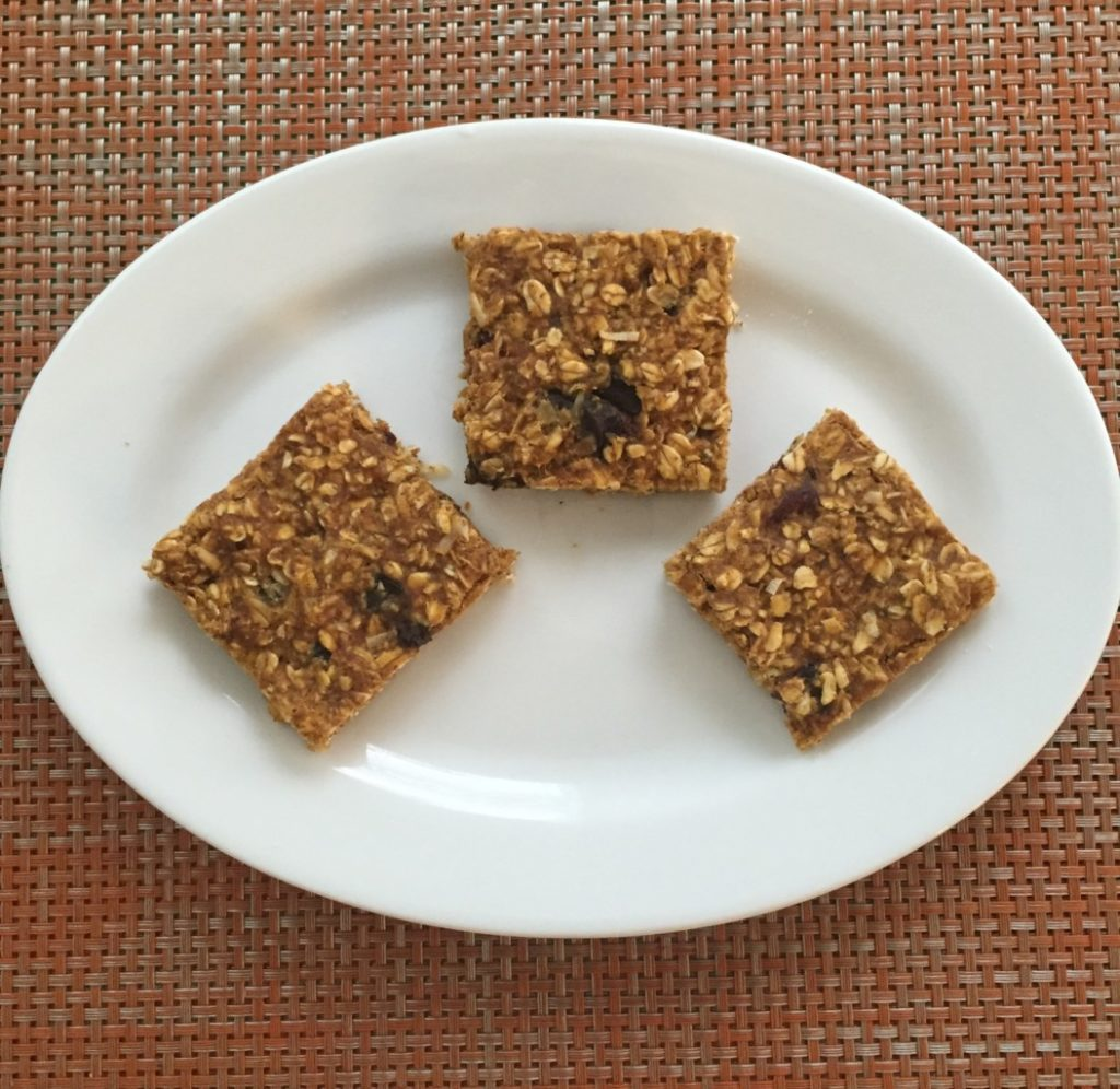 Pumpkin Oatmeal Breakfast Bars