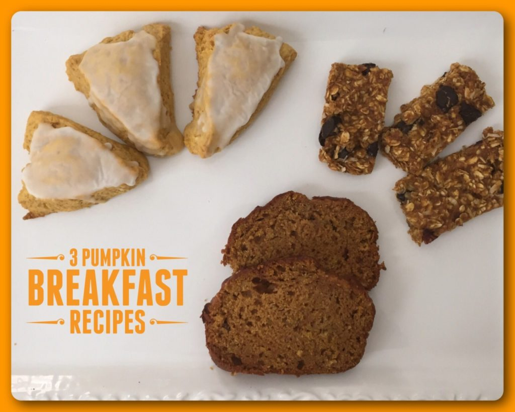 3 Pumpkin Breakfast Recipes
