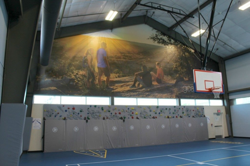 Gym at Clarity Child Guidance Center - children's mental health care in San Antonio   Alamo City Moms Blog