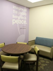 Meeting room at Clarity Child Guidance Center - children's mental health care in San Antonio | Alamo City Moms Blog
