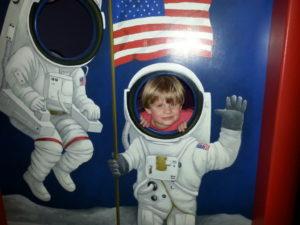 Astronaut fun at the McKenna.