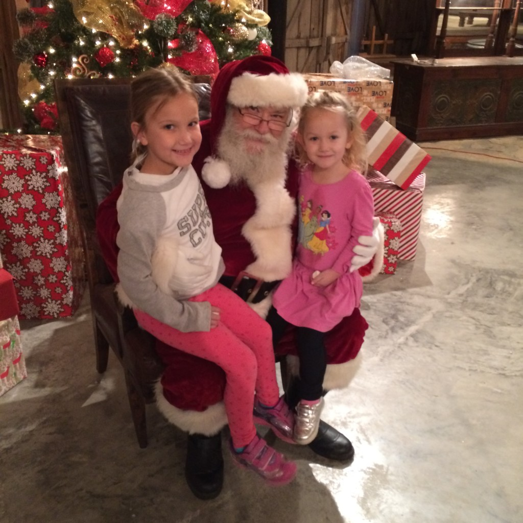 Make sure you visit Santa at Christmas Light Fest and tell him what's on your wish list this year.