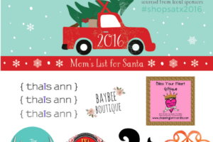 ShopSATX Mom's List for Santa