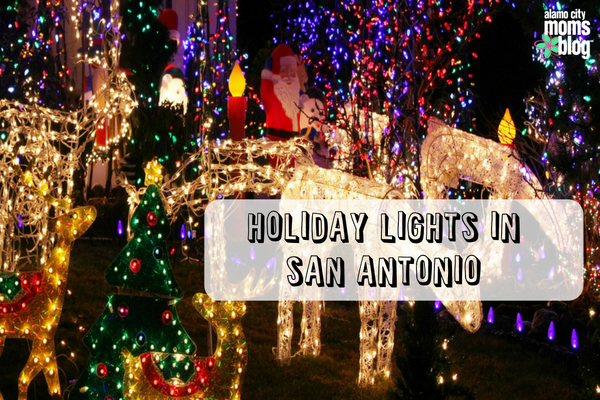 Lights Abound: Where to See Holiday Lights in San Antonio