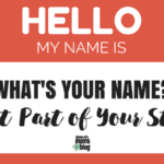 What's Your Name? Just Part of Your Story