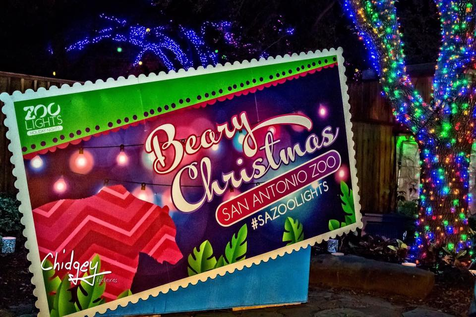 Zoo Lights: Merry & Bright and Wild at Night! Where: San Antonio ... - Where To See The Best Holiday Lights In San Antonio