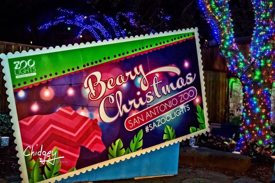 Zoo Lights Merry U0026 Bright And Wild At Night! Where: San Antonio ...