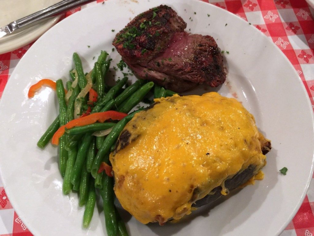 Steak dinner at the Barn Door in Alamo Heights | Alamo City Moms Blog