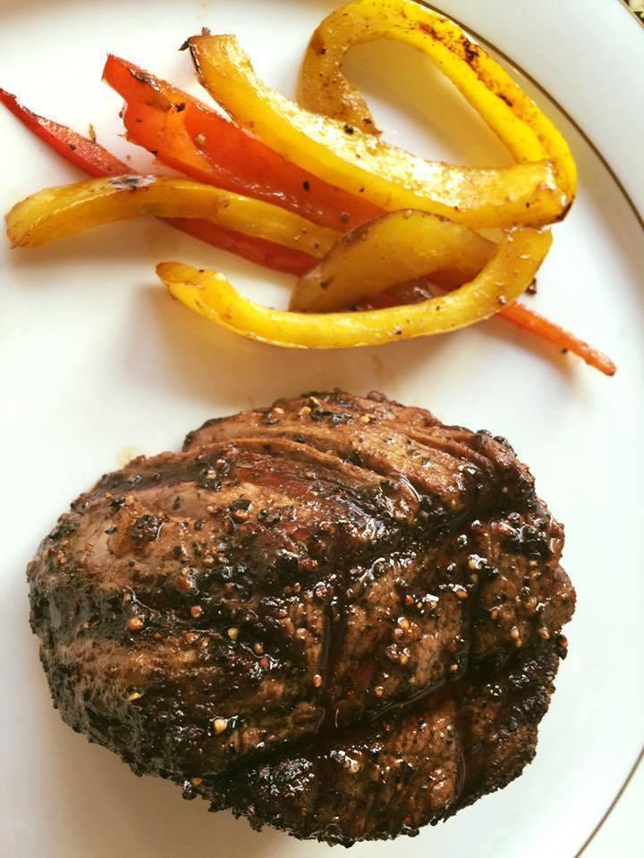 Filet mignon at Bohanan's Prime Steaks in San Antonio | Alamo City Moms Blog