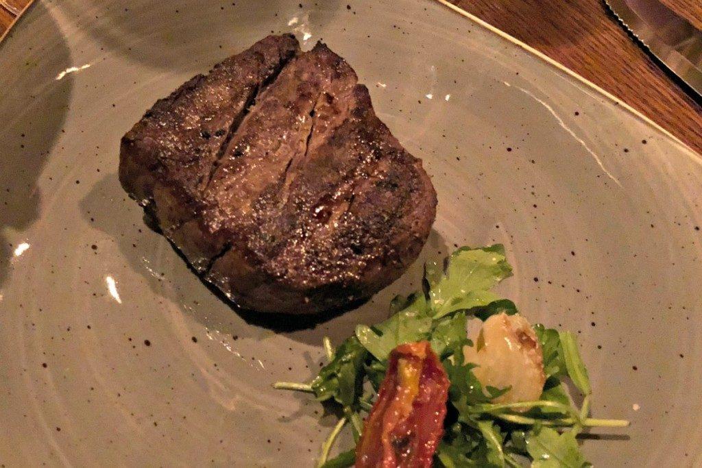 Steak at Antlers Lodge at Hyatt Hill Country Resort in San Antonio   Alamo City Moms Blog