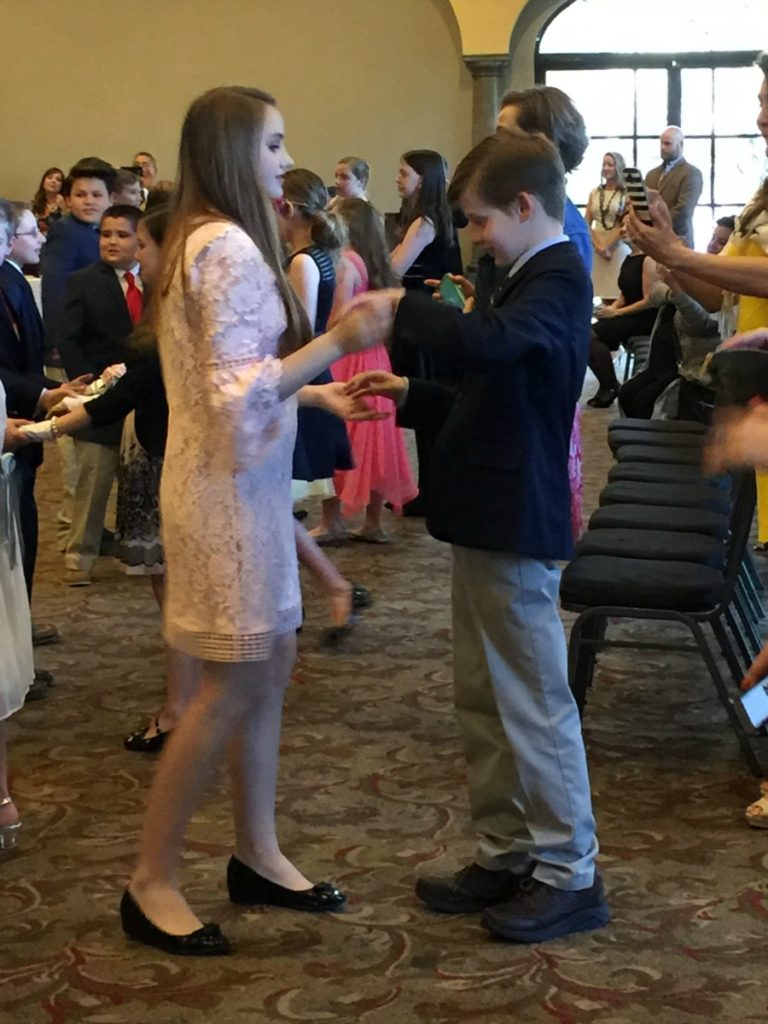 Dance lesson at Cotillion | Alamo City Moms Blog